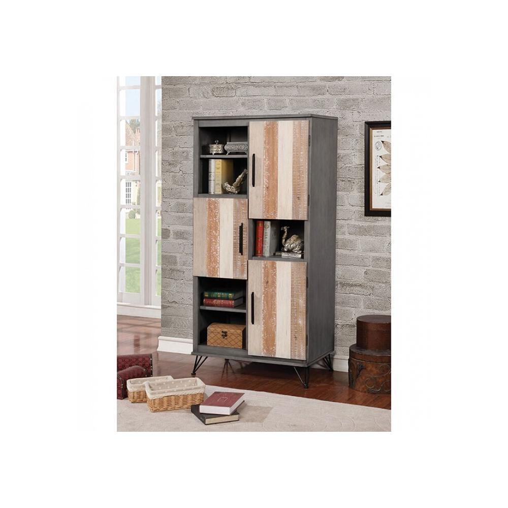 See Details - Binche Pier Cabinet W/ 3 Doors