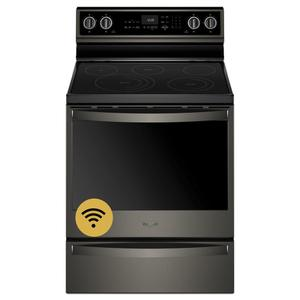 Whirlpool  6.4 cu. ft. Smart Freestanding Electric Range with Frozen Bake Technology