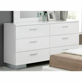 ACME Lorimar Dresser - 22635 - White & Chrome Leg