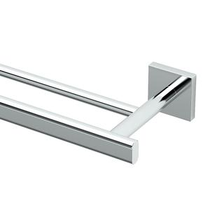 Elevate Double Towel Bar in Chrome Product Image