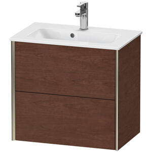 Duravit - Vanity Unit Wall-mounted Compact, American Walnut (real Wood Veneer)
