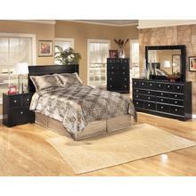 See Details - Shay - Almost Black 5 Piece Bedroom Set