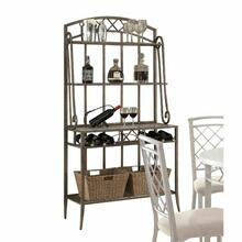 ACME Aldric Baker's Rack - 73003 - Faux Marble & Antique