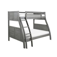 Easton Gray Bunk Bed-ships In 4 Cartons