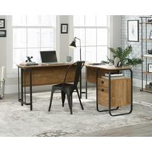 Industrial L-Shaped Home Office Desk