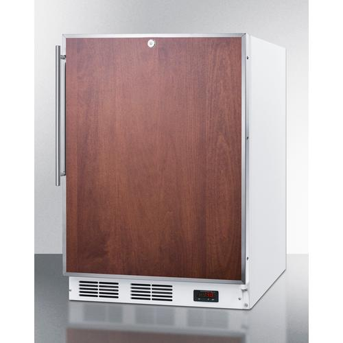 ADA Compliant Built-in Medical All-freezer With Lock, Capable of -25 C Operation; Door Accepts Panels