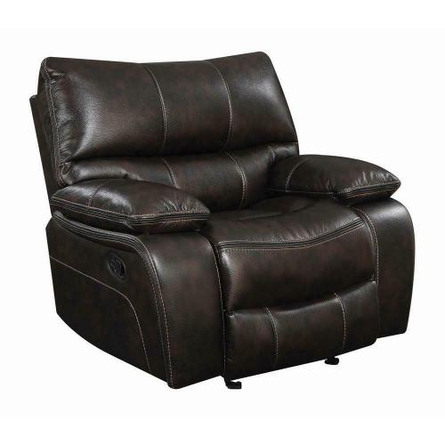 Willemse Chocolate Glider Recliner