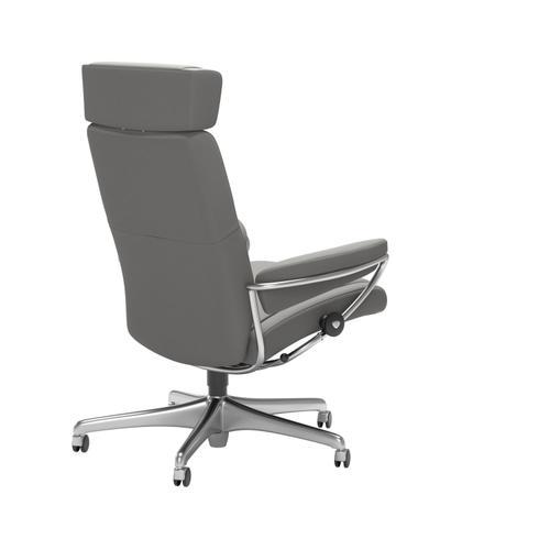 Stressless By Ekornes - Stressless® Paris Home Office Adjustable Headrest