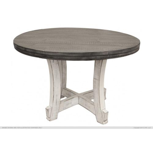 51 Round Table Top w/ Stone Finish