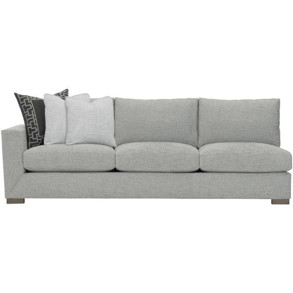 See Details - Nicolette Left Arm Sofa in Mocha (751)