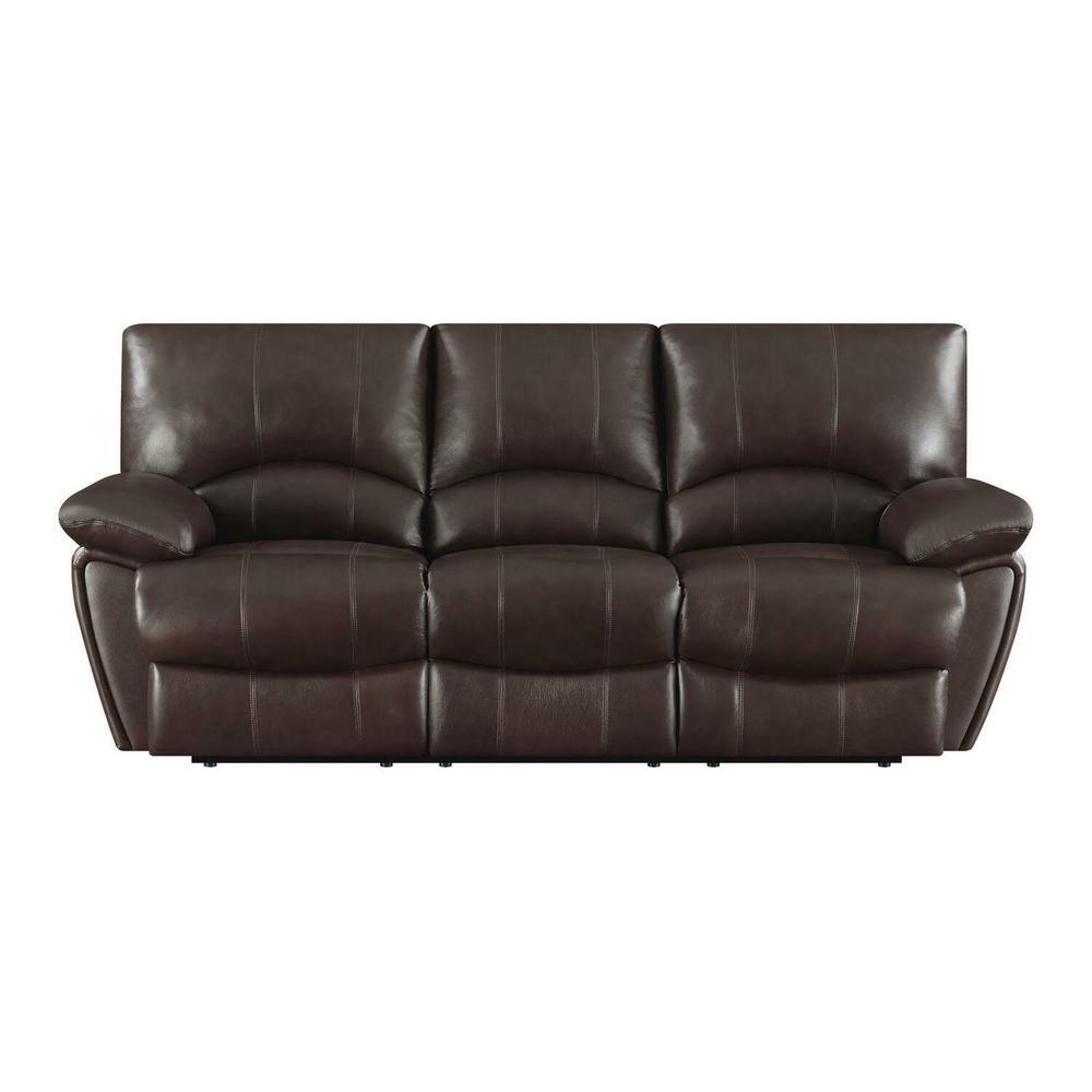 Product Image - Clifford Motion Dark Brown Sofa