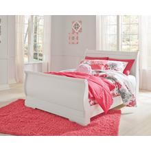 Anarasia - White 3 Piece Bed (Full)