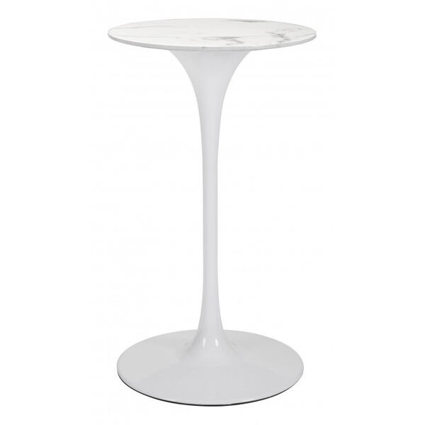 Dylan Bar Table White