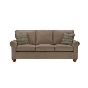 3 Cushion Sofa - Shown in 111-14 Mocha Chenille Finish