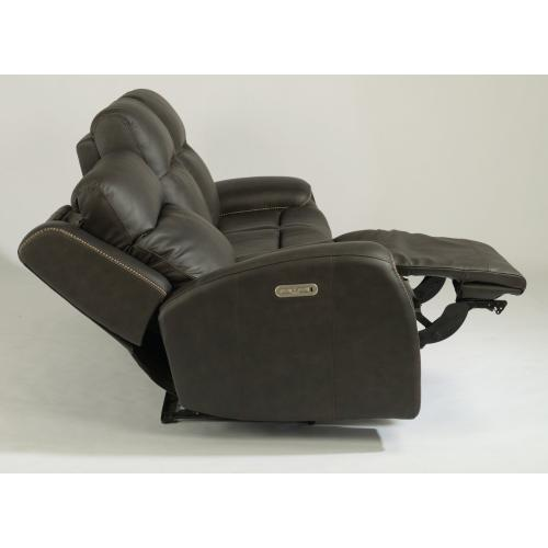 Solo Power Reclining Sofa with Power Headrests