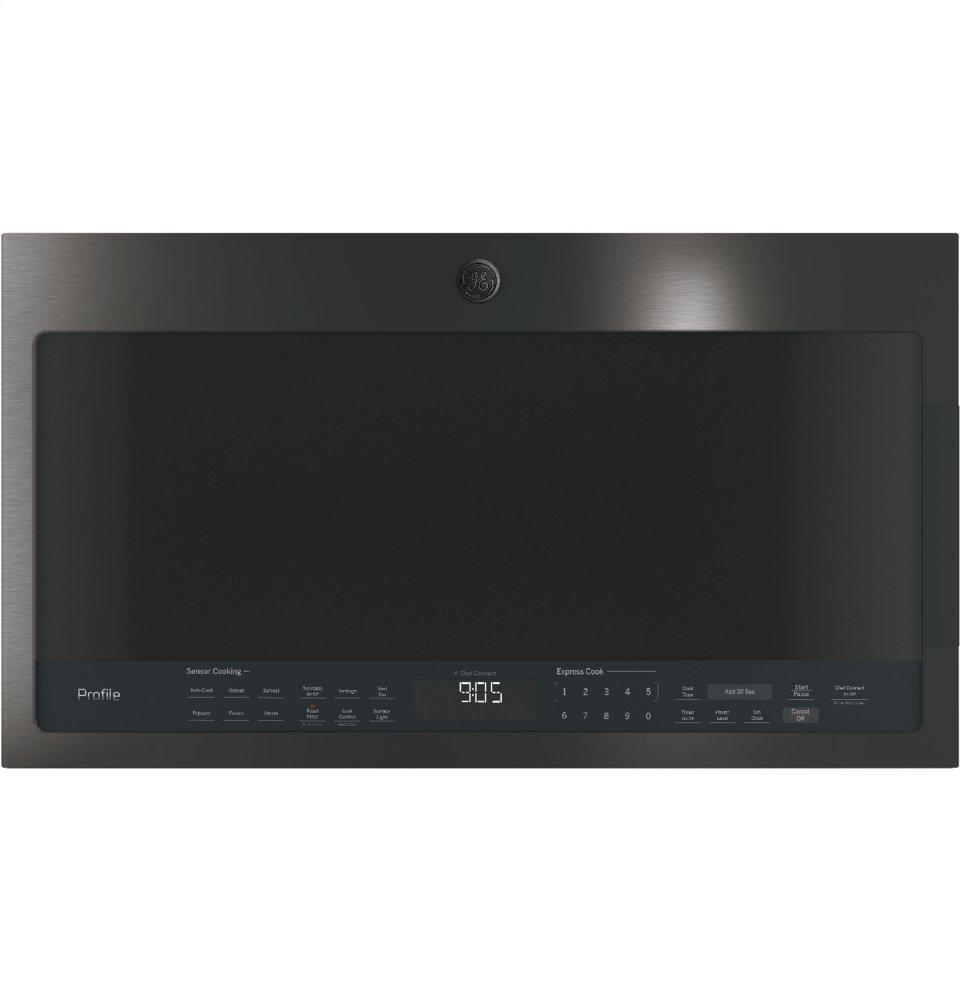 GE Profile2.1 Cu. Ft. Over-The-Range Sensor Microwave Oven