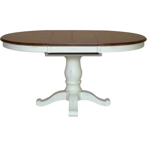 Gallery - Extension Table Top & Base in Espresso & Alabaster