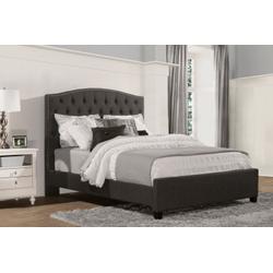 Lila Queen Bed - Onyx Linen