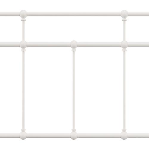 Hillsdale Furniture - Providence Metal Twin Headboard, Soft White