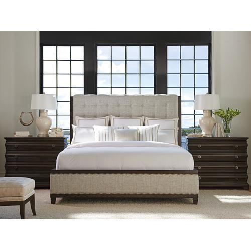 Lexington Furniture - Bristol Tufted Upholstered Bed King