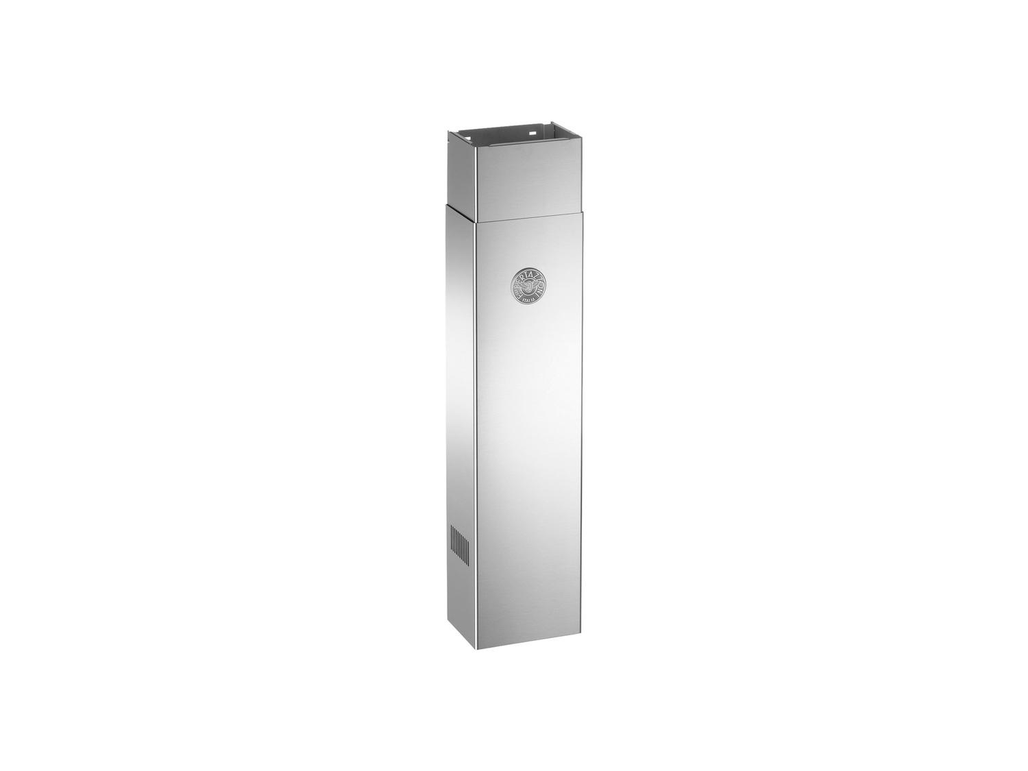 """Duct Cover Narrow - Tall - up to 12"""" ceiling for KU models Stainless Steel"""