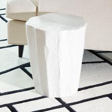 See Details - Trunk Stool-White