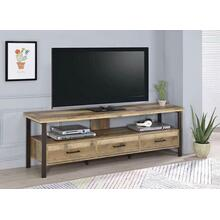 "Rustic Weathered Pine 71"" TV Console"