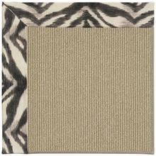 "Creative Concepts-Sisal Tigress Zinc - Rectangle - 24"" x 36"""