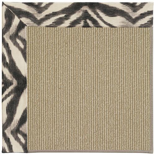 "Creative Concepts-Sisal Tigress Zinc - Rectangle - 24"" x 36"""