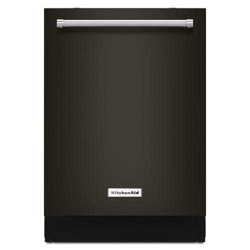 44 dBA Dishwasher with Clean Water Wash System Black Stainless Steel with PrintShield™ Finish