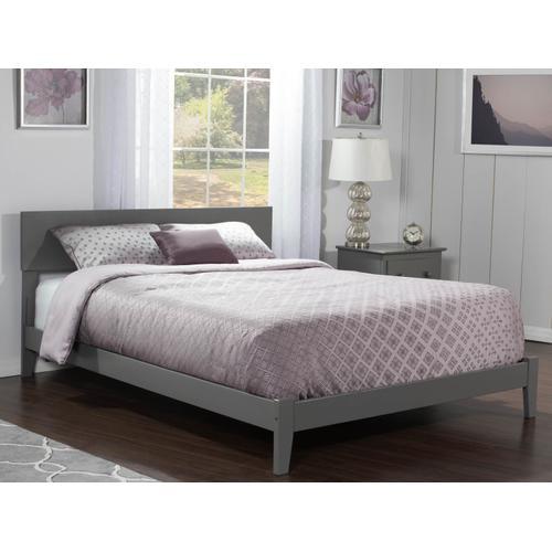 Orlando Queen Bed in Atlantic Grey