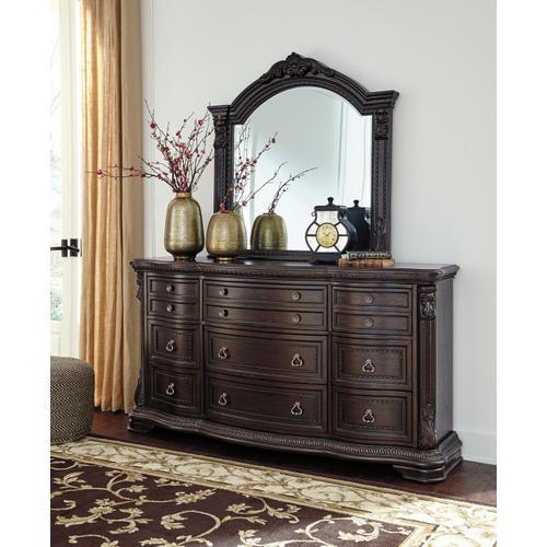 Wellsbrook - Dark Brown 2 Piece Bedroom Set