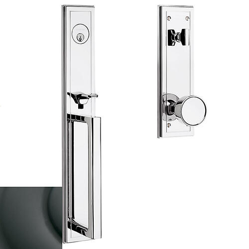 Oil-Rubbed Bronze Hollywood Hills Full Escutcheon Handleset