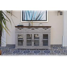 See Details - Console 3 Drawers 4 Doors