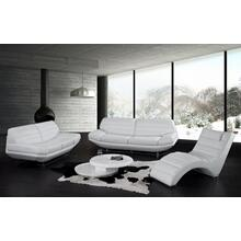 Product Image - Divani Casa Boco - Modern White Leather Sofa Set