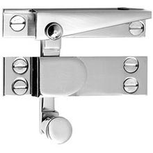 Antique Brass Unlacquered Straight arm sash fastener