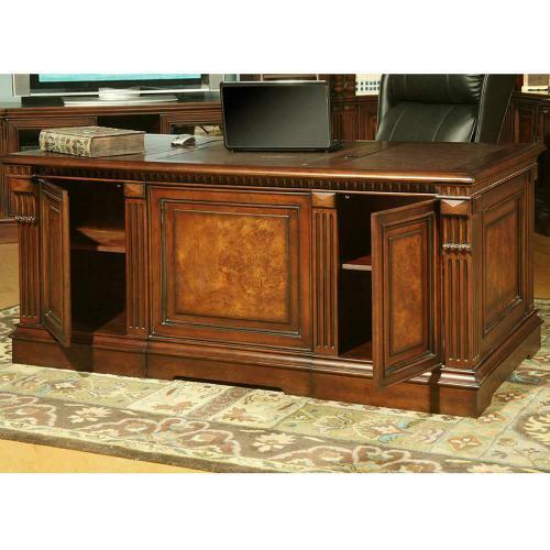 Parker House - CORSICA Double Pedestal Executive Desk