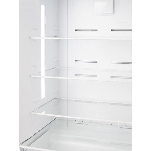 "Summit - 28"" Wide Top Mount Refrigerator-freezer"