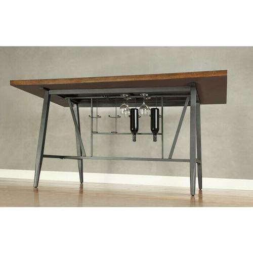 Gallery - Counter Height Table Top & Metal Base