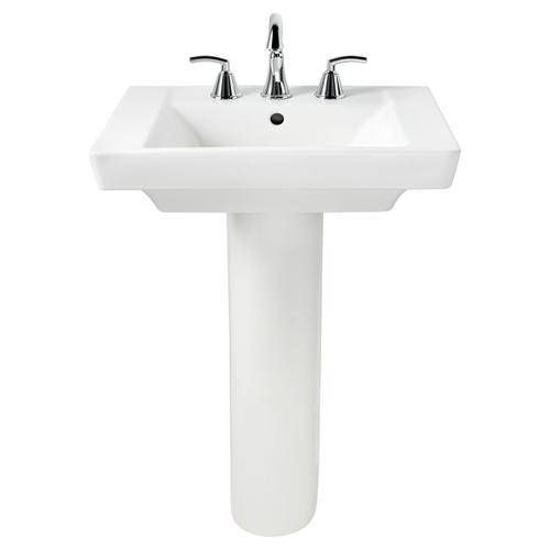 Boulevard 24 Inch Pedestal Sink - Linen