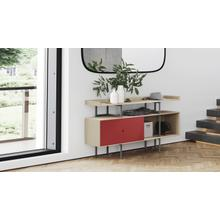View Product - Margo 5211 Console in Drift Oak Cayenne