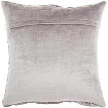 "Life Styles Sc105 Lt Grey 18"" X 18"" Throw Pillow"