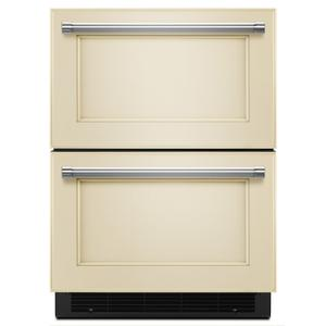 "KitchenAid24"" Panel Ready Double Refrigerator Drawer Panel Ready"