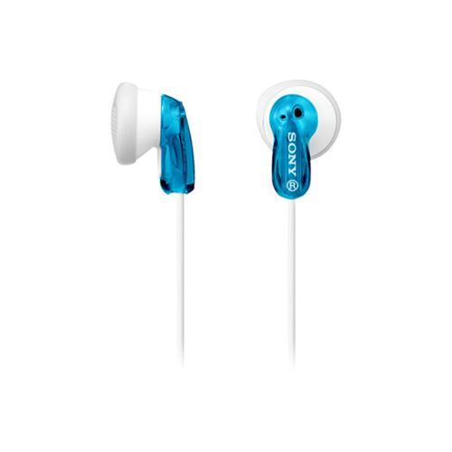 Sony - Wired In-ear Headphones - Blue