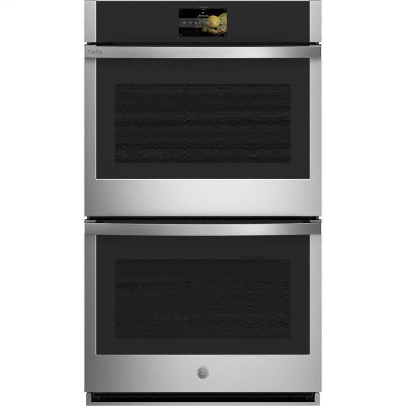 "30"" Smart Built-In Convection Double Wall Oven with No Preheat Air Fry and Precision Cooking"