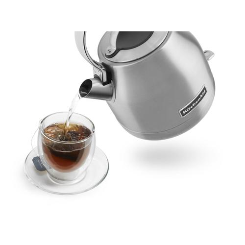 KitchenAid - 1.25 L Electric Kettle Brushed Stainless Steel