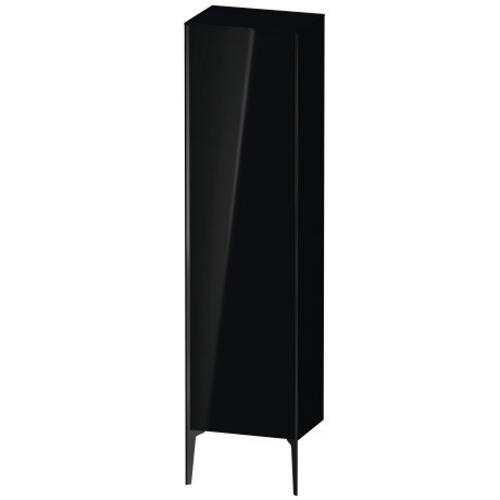 Tall Cabinet Floorstanding, Black High Gloss (lacquer)