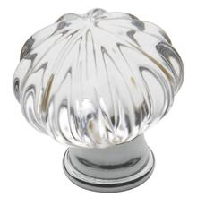 View Product - Polished Chrome Crystal Cabinet Knob