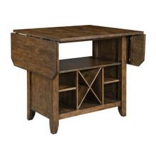 See Details - The Nook Hewned Maple Kitchen Island