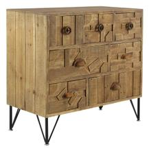 """WD 7 DRAWER CHEST 31""""W, 30""""H"""